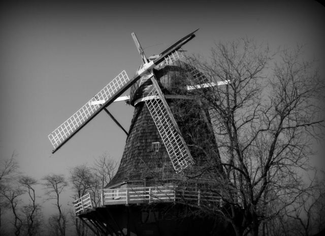 There's a reason the modern age moved on from windmills ... on