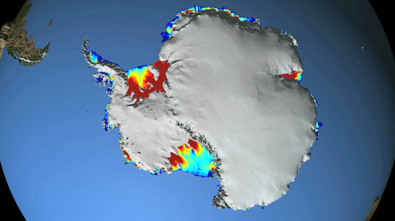 NASA: Warm Ocean Currents Cause Majority of Ice Loss from ...