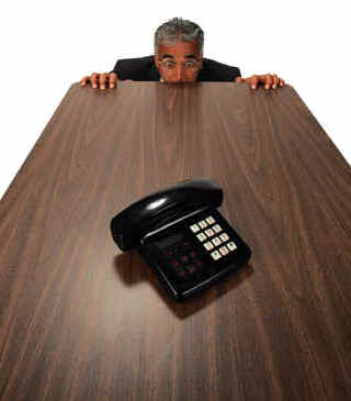 how to call for an interview on phone
