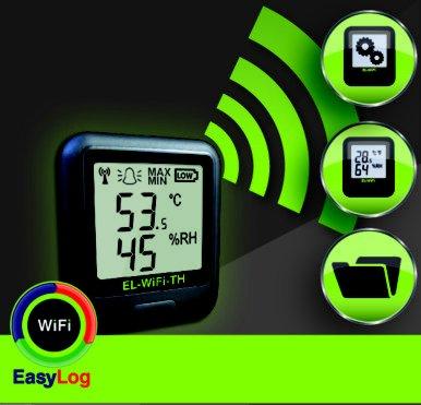 New Gadget Remote WiFi Temperature Humidity Data Logger