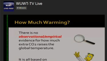 WUWT-TV's answer to Al Gore's 'Dirty Weather Report' is ON