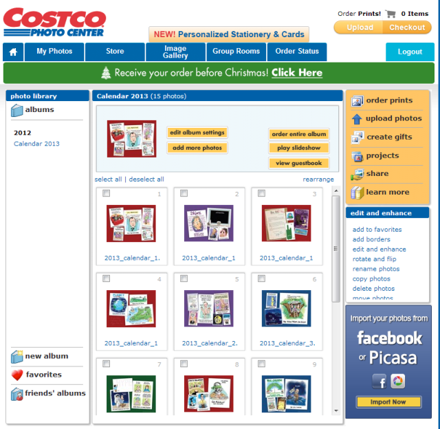 COSTCO_Calendar_album