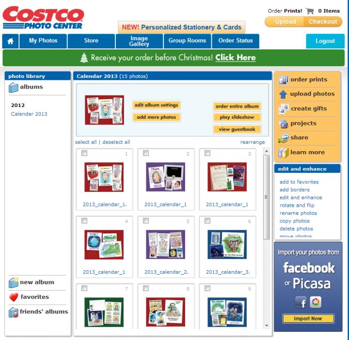 COSTCO_Calendar_album