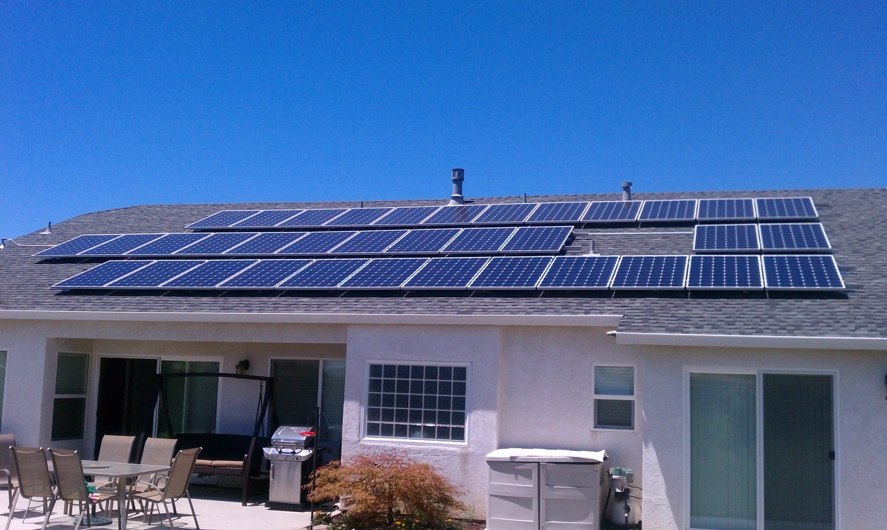 An update on my solar power project results show why i for Energy house