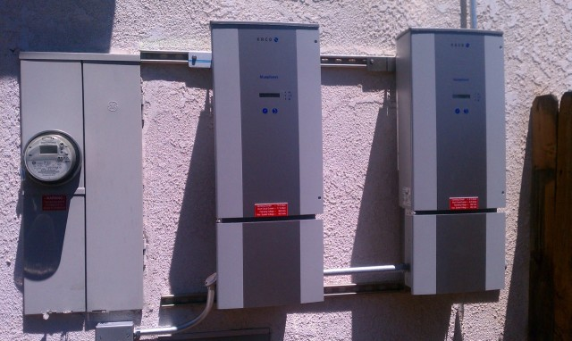 solar home grid tie inverters