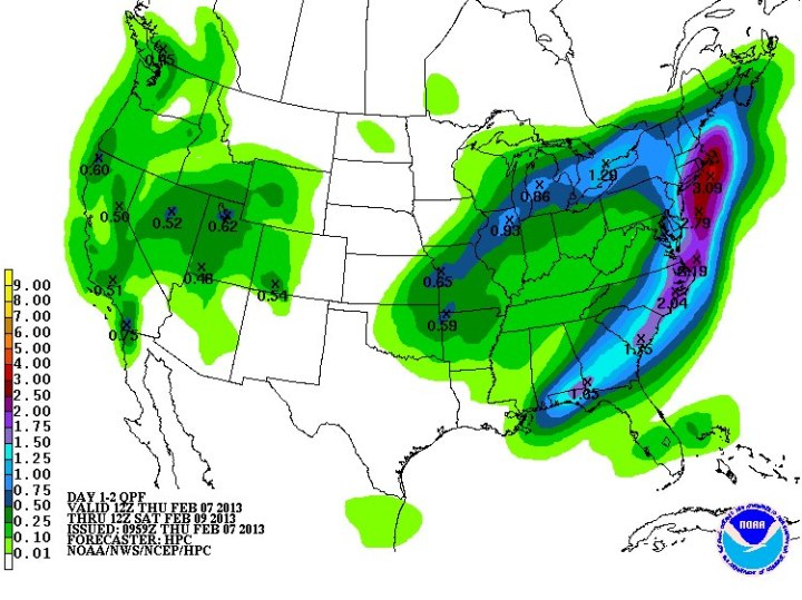 Boston_Blizzard_QPF