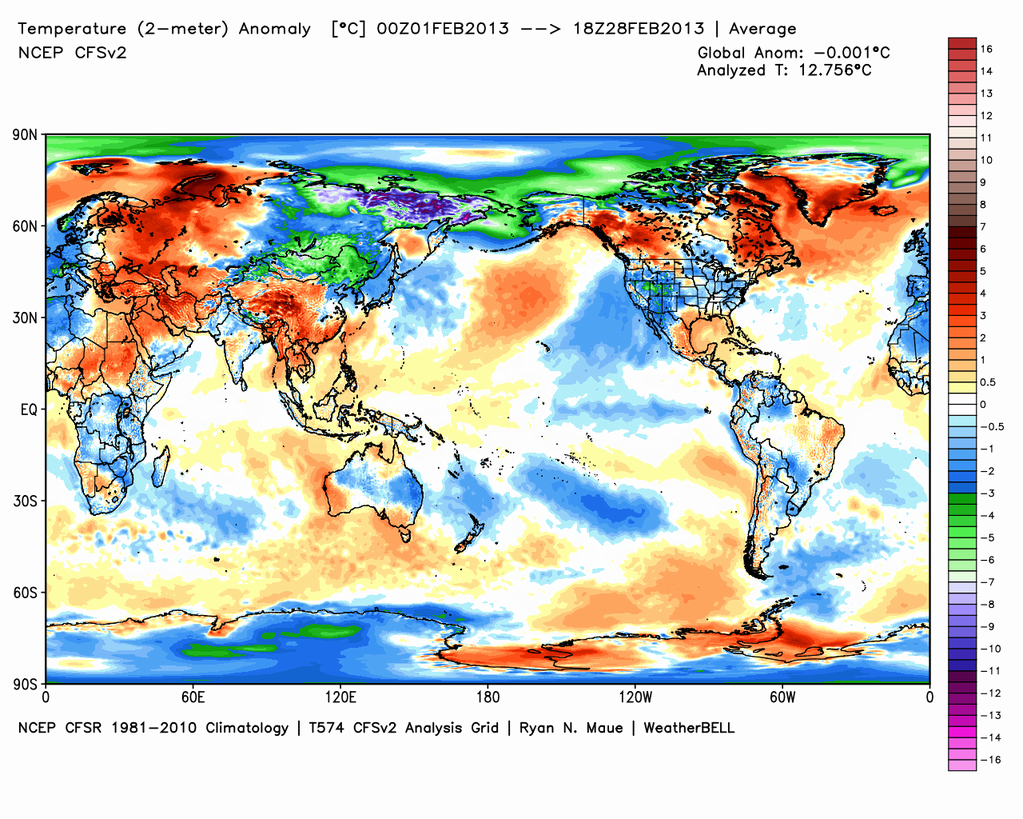 Feb2013_NCEP_2mGlobal temperature