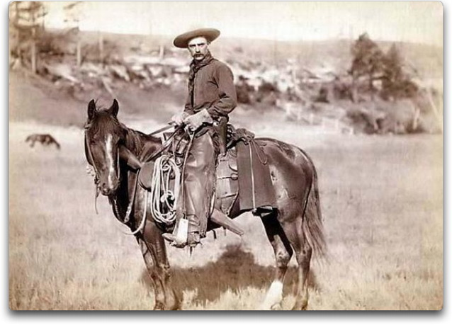 old time cowboy