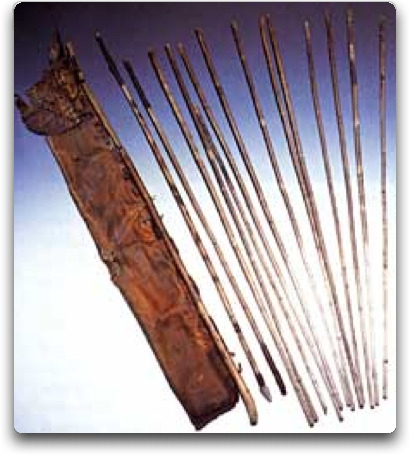 otzi quiver and arrows