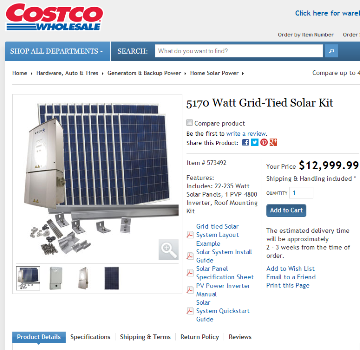 COSTCO_Solar5KW