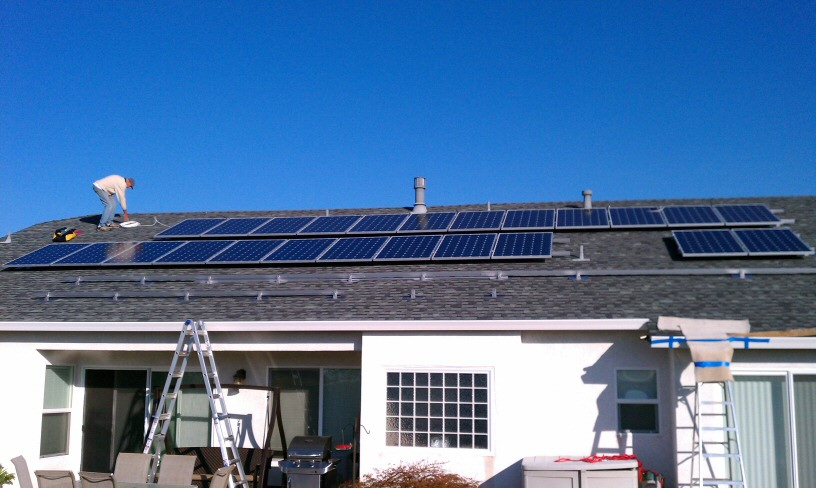 an update on my solar power project results show why i got solar securing home solar panels