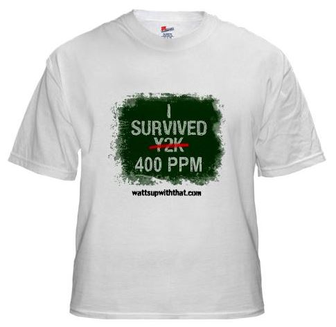 The 400 PPM FUD Factory: T-shirts now available | Watts Up With That?