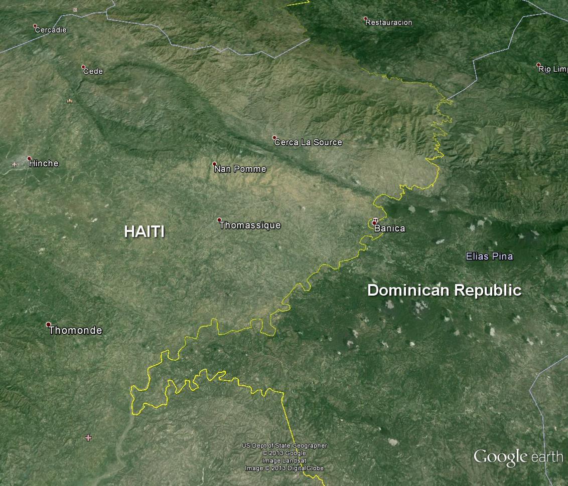 Haiti_DomRepub_deforestation