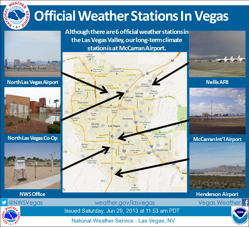 About the record temperature in Las Vegas yesterday…it wasn