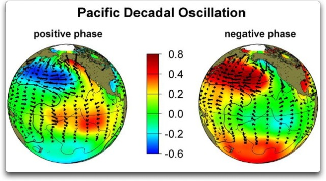 pdo warm and cold phases