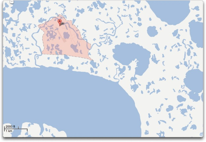 gmap newtok closeup II