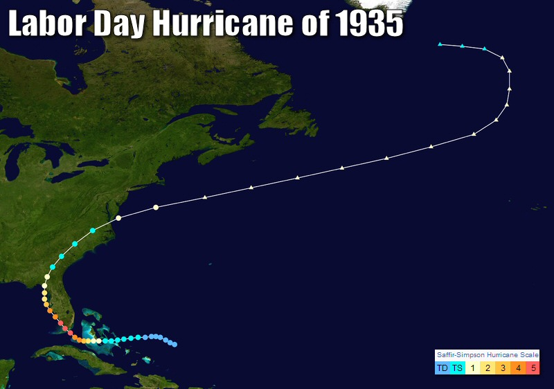 the great labor day hurricane of 1935