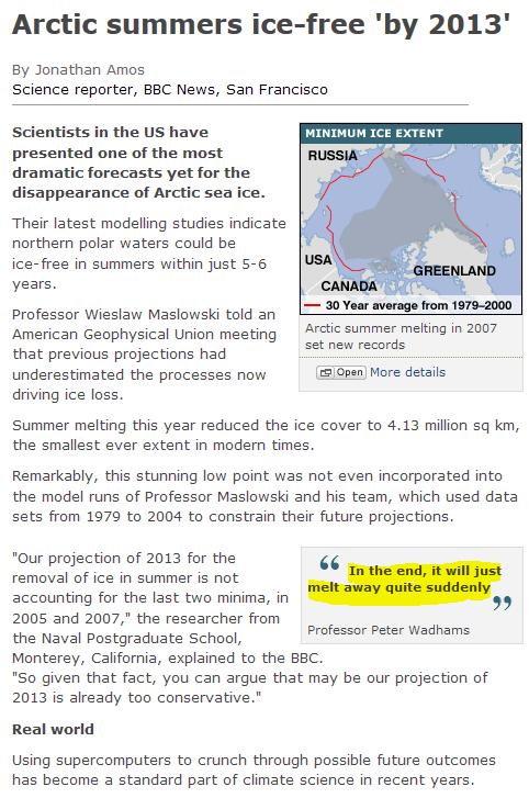 Sea Ice News Volume 4 number 4 – The Maslowski Countdown to