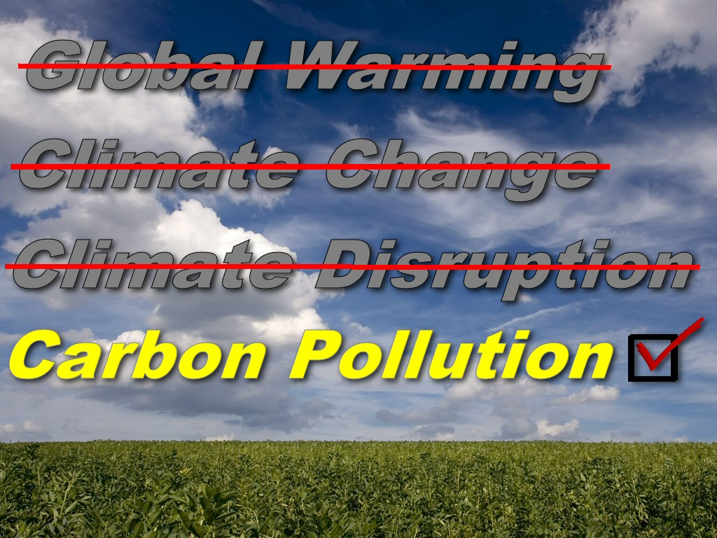 Lexicon Shift Alert Global Warming Gets Another Name Change