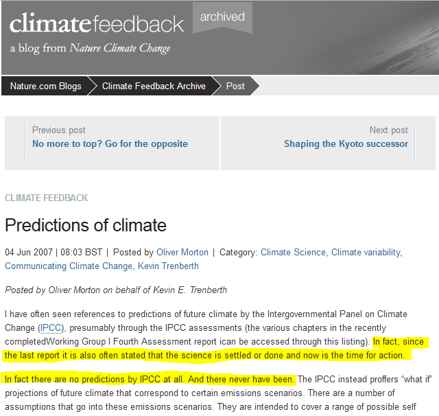 Trenberth_IPCC_predictions_settled