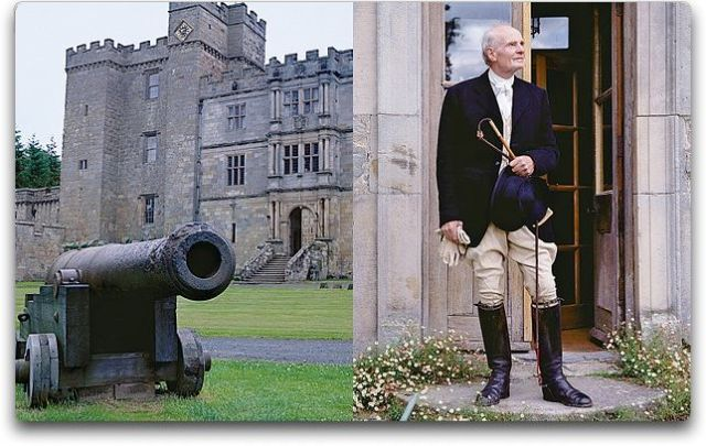 chillingham castle and sir h