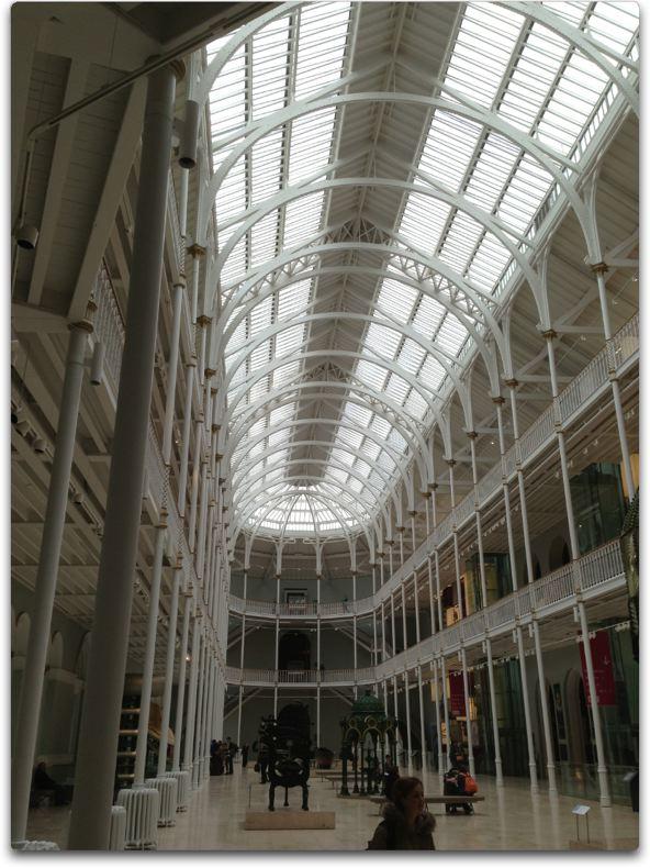 edinburgh museum main hall