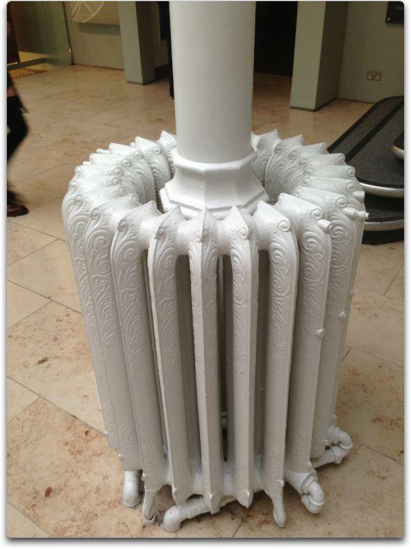 edinburgh museum radiator