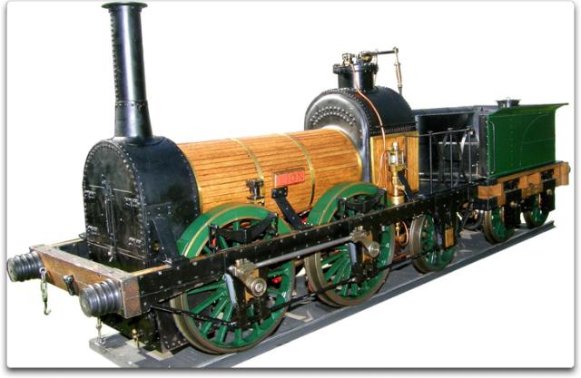 lion locomotive
