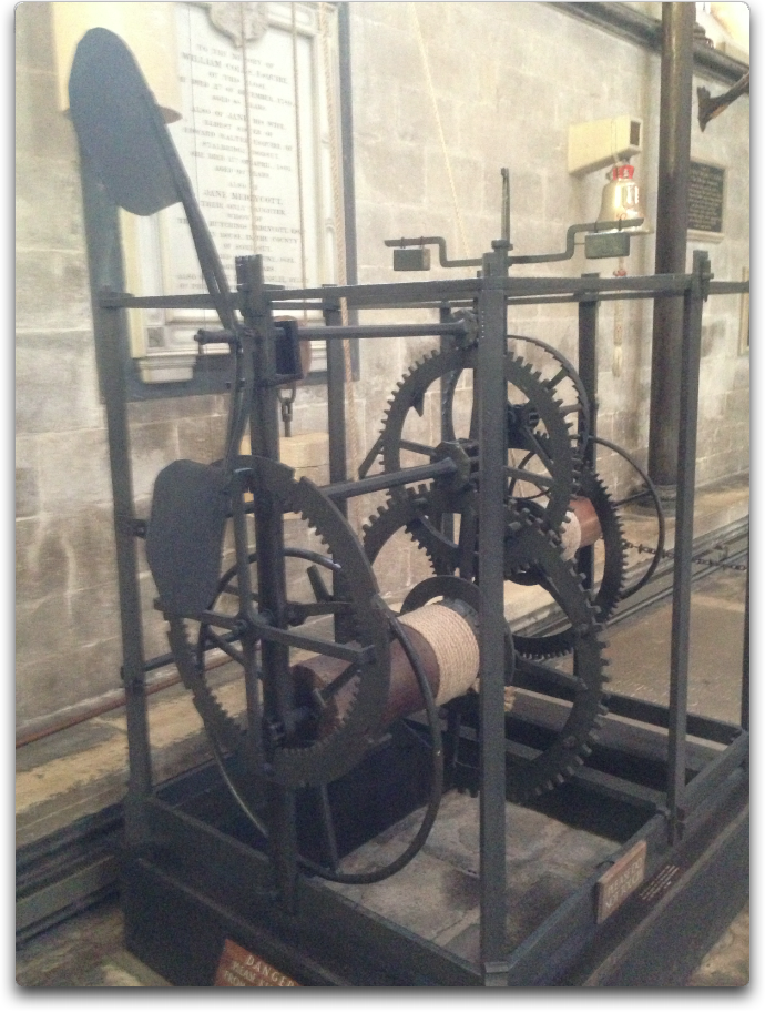 salisbury cathedral clock