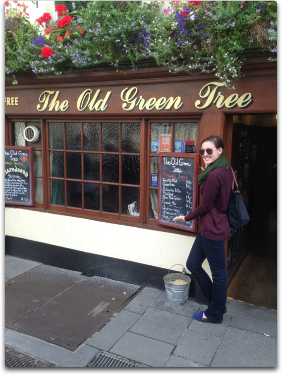 the old green tree