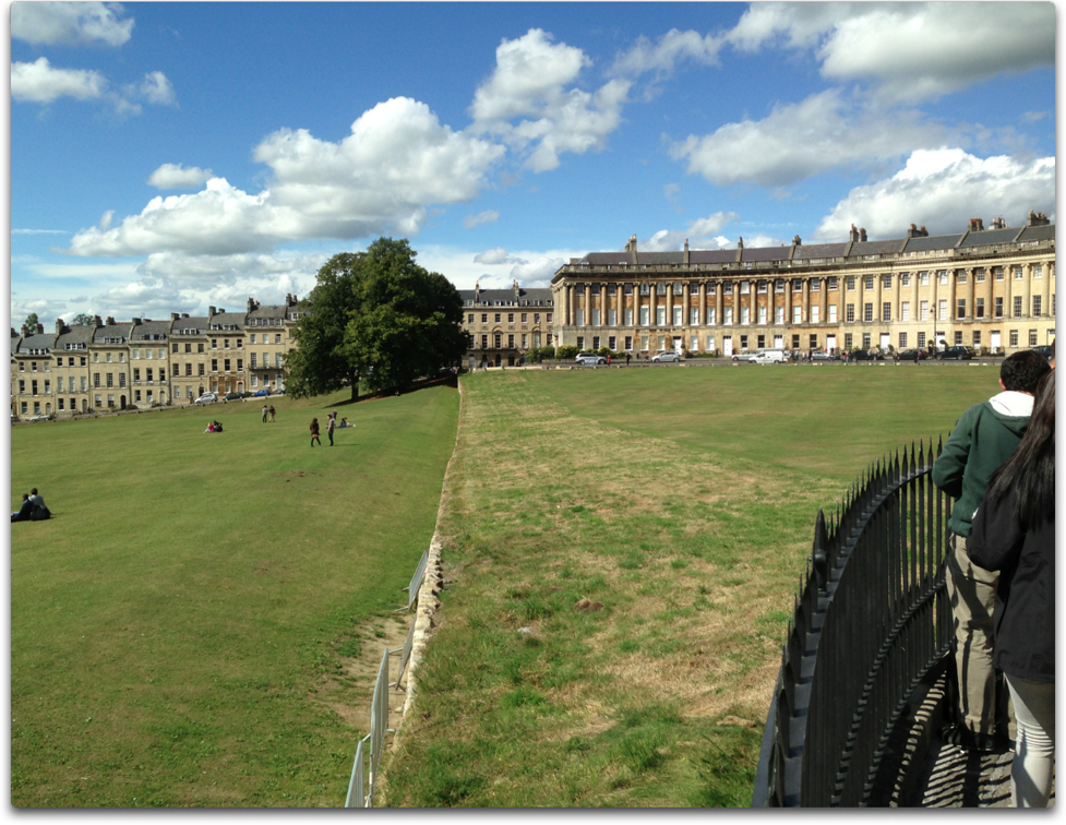 the royal crescent henge