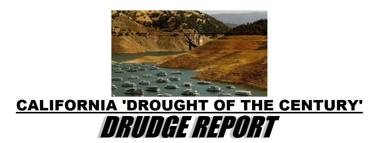 California's drought situation in pictures – what a difference one year makes   Watts Up With That?