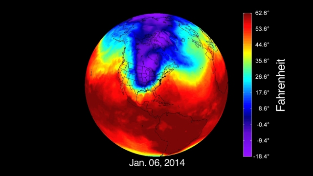 nasa COLD ANOMALIES IN THE  NH 2014