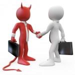 devil-handshake-agreement