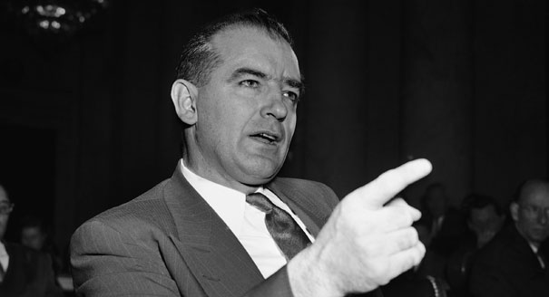 Shameless Climate McCarthyism on full display – scientist ... Joseph Mccarthy