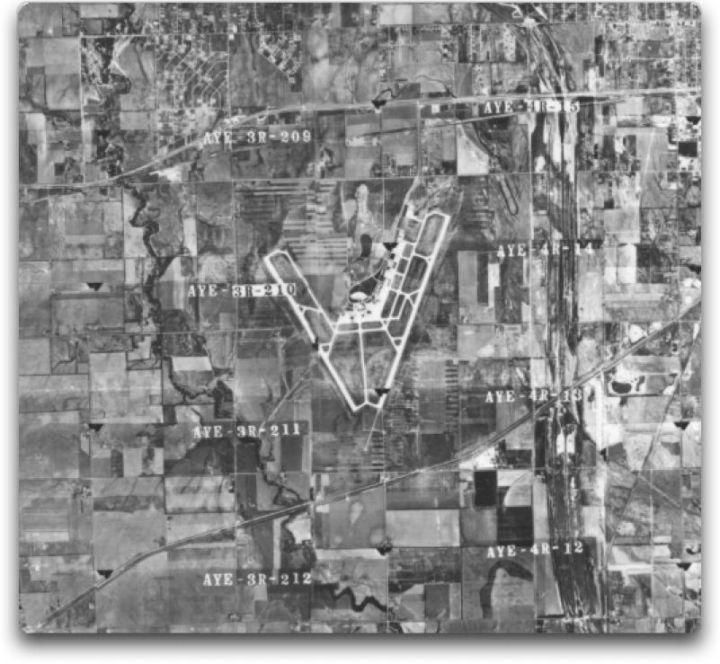 kansas mid-continent airport 1956 big