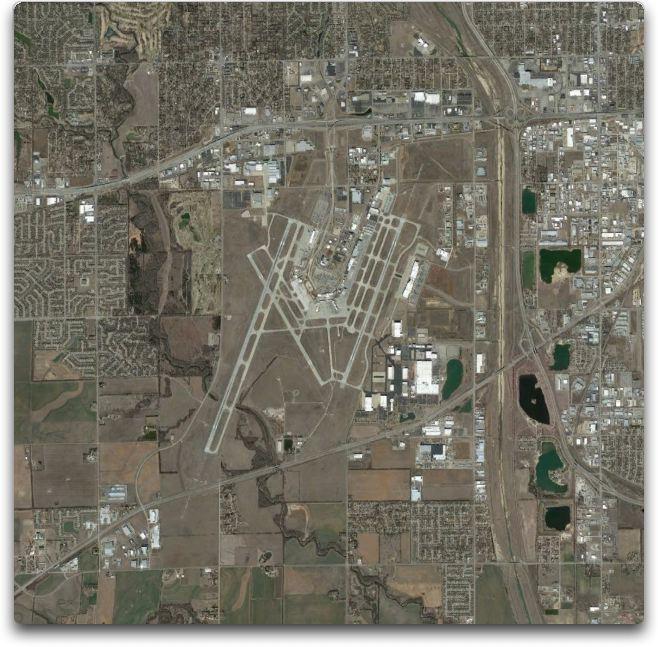 kansas mid-continent airport 2013 big