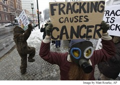 Fracking Protest, Matt Rourke AP Article Caption