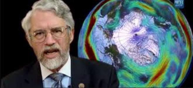 President Obama's Science Advisor John Holdren, screenshot from the Video which sparked the CEI Open Records Request