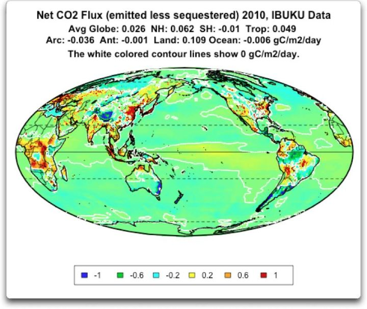 net co2 flux 2010 IBUKU data white