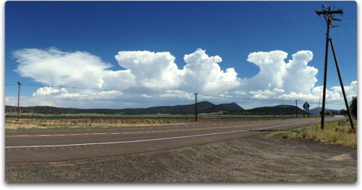 thunderstorms over klamath