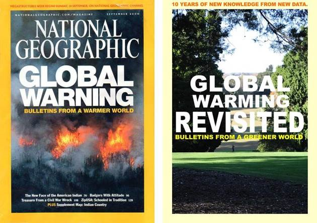 Geoff Sherrington Writes National Geographic Magazine Had A Global Warming Issue In September  New Instruments Have Given New Data