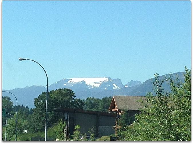 day two view ice cap mountain