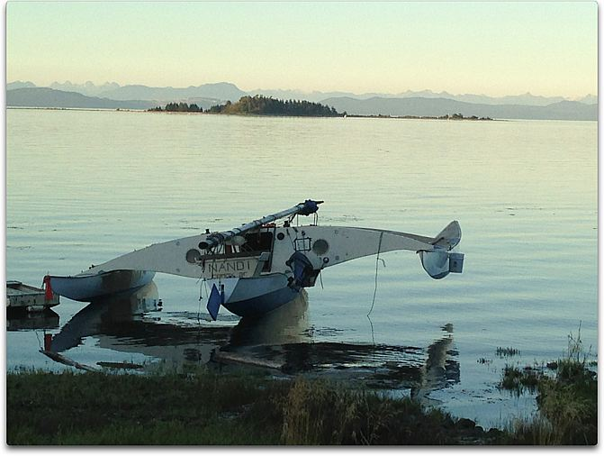day two water in