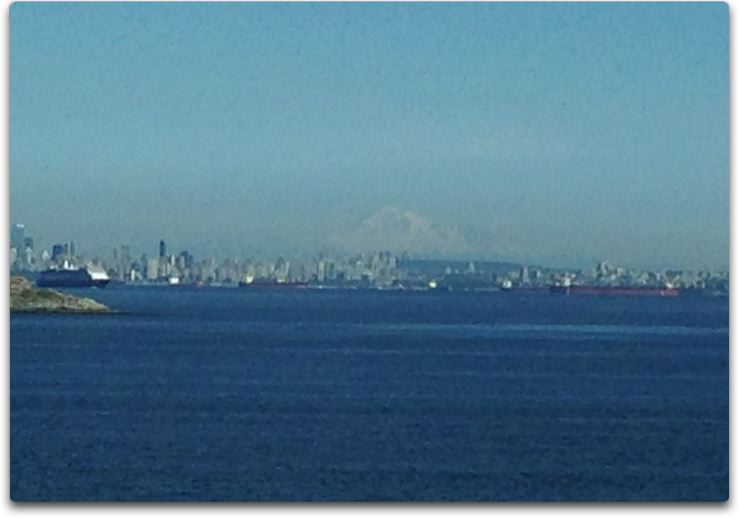 vancouver from island ferry