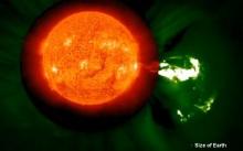 Earth-flare-0903-14