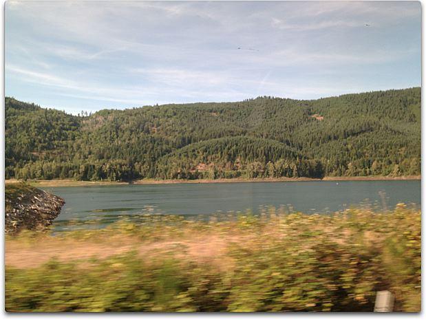 train day lake