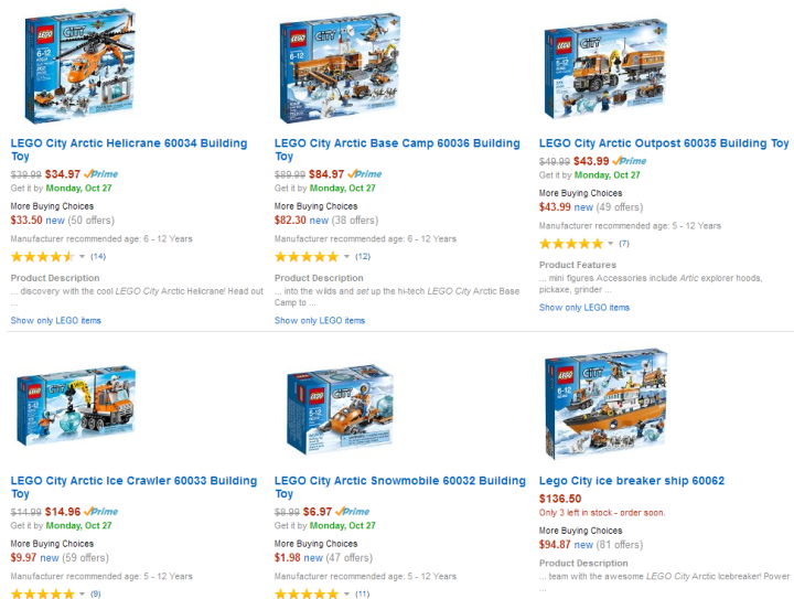 LEGO-Arctic-collection