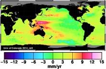 Sea Level Trends Univ of Colorado