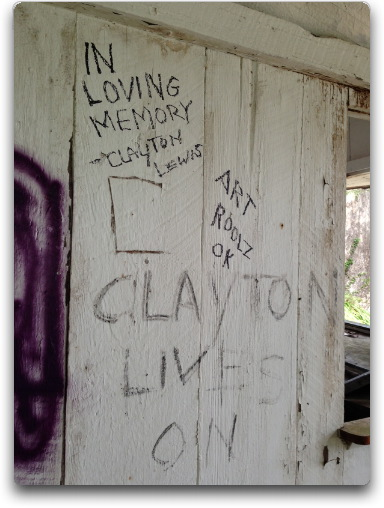 clayton lives on